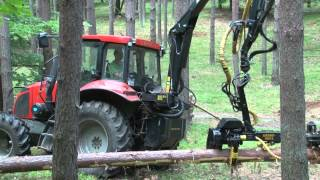 CRYSTAL TRAKTOR ORION 13 Leśny & Harvester part.1