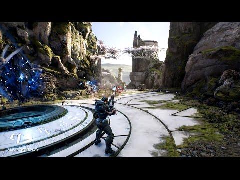 видео: Дебютный геймплей paragon