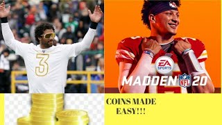 Madden 20 Coin Method (w/proof) part 19 (easy fast coins)