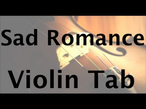 How to Play Sad Romance on the violin