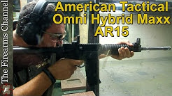 American Tactical AR15 Omni Hybrid Maxx Metal Infused Polymer Upper and Lower Rifle Review