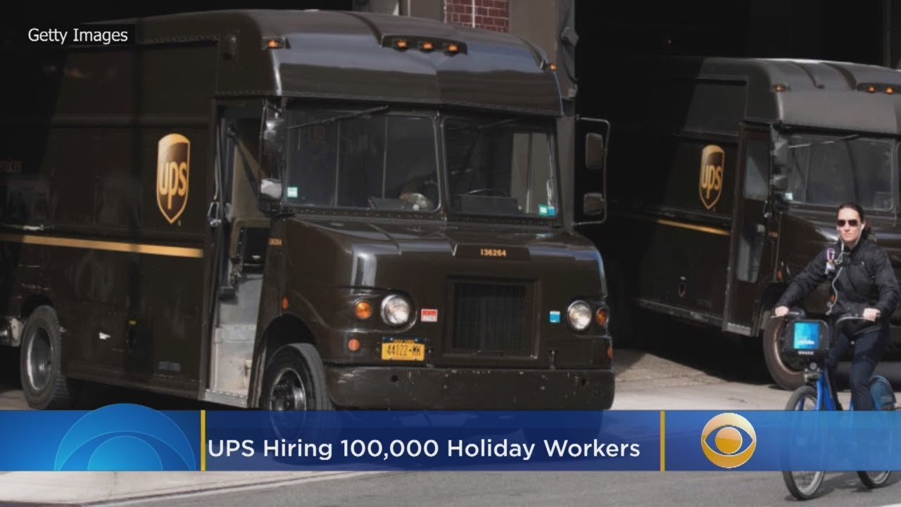 UPS to hire about 100000 seasonal employees for the holiday season