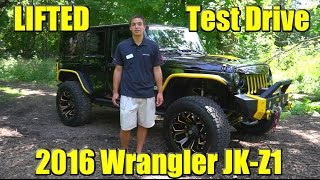 LIFTED 2016 SCA Performance JK-Z1 Jeep Wrangler! Test Drive, Detailed Walkaround, MUST SEE!