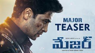 Major Teaser | Telugu | Adivi Sesh | Sobhita | Saiee Manjrekar | Mahesh Babu | Sashi Tikka