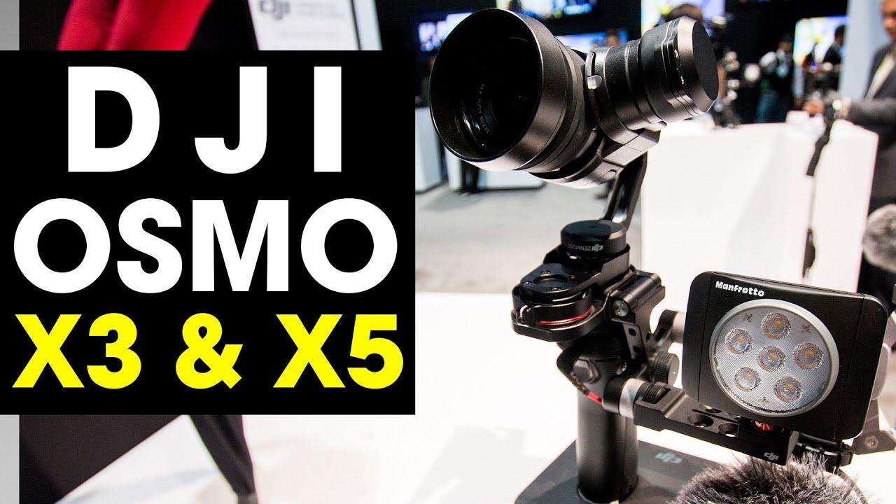 DJI Osmo X5 Pro vs. Zhiyun Crane - YouTube