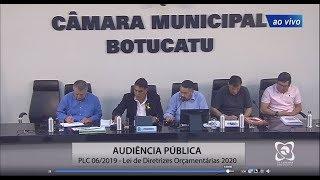 Audiência Pública 12/09/2019  LDO 2020 (PLC 06/2019)