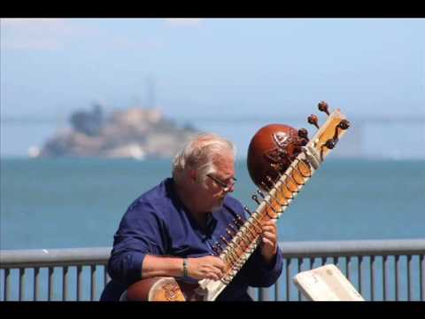"""Dock of the Bay""  Raag Gaur Sarang jhaptal   Antar Richard Garneau ~ sitar"