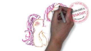 Смотреть май литл пони онлайн  Как быстро нарисовать пони карандашом(СМОТРЕТЬ МАЙ ЛИТЛ ПОНИ ОНЛАЙН. Как правильно нарисовать героев мультфильма мой маленький пони карандашом..., 2014-10-13T14:10:25.000Z)