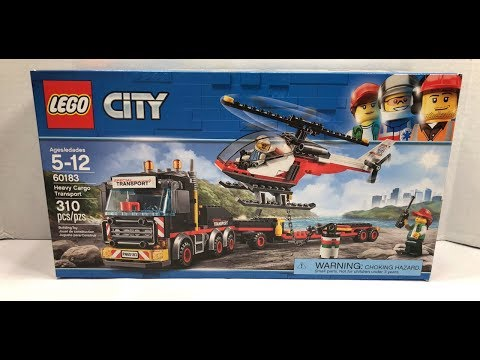 Lego City: Heavy Cargo Transport 60183