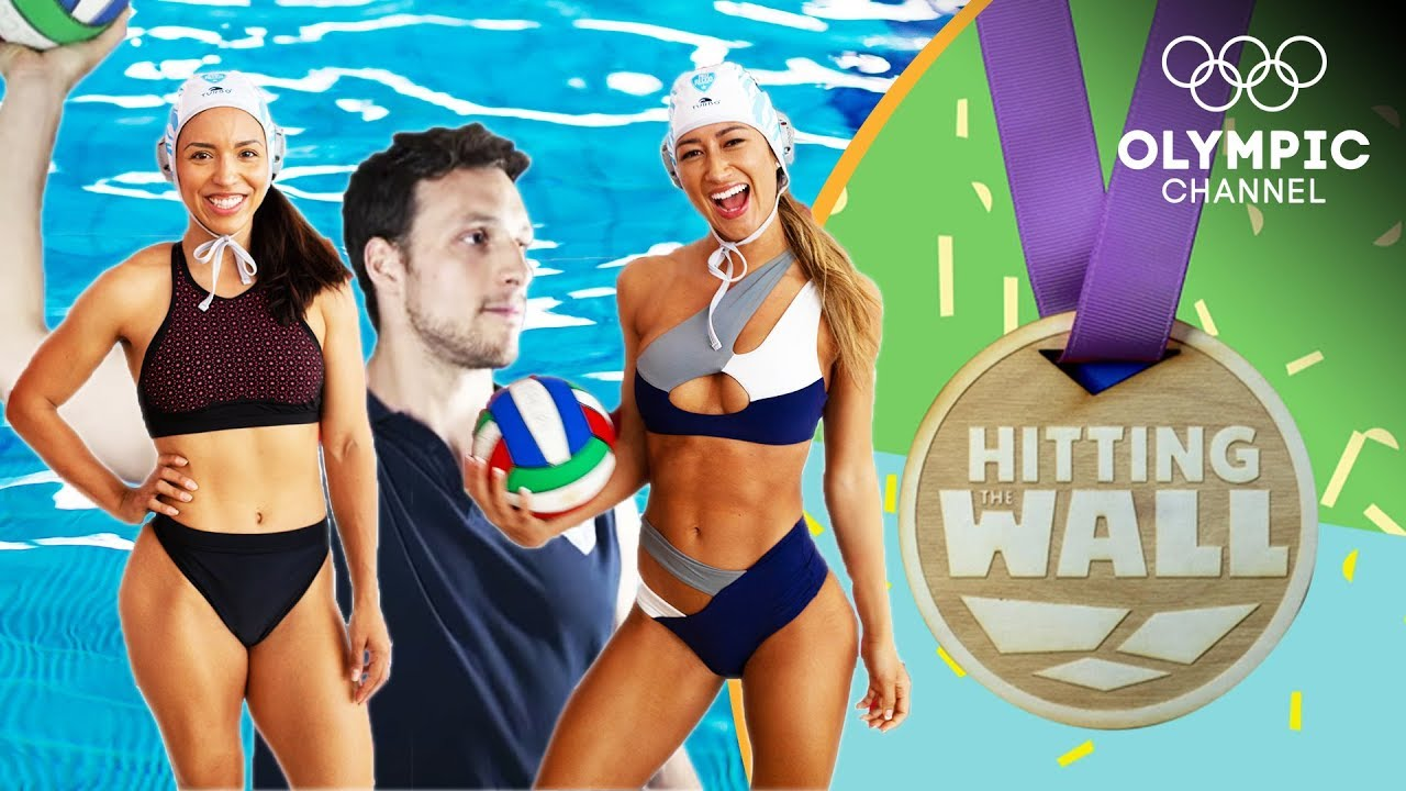Can fitness influencers handle a water polo workout from Team Italy?   Hitting the Wall