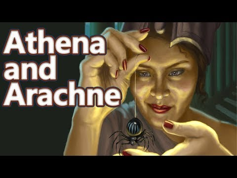 Athena and Arachne - Greek Mythology Ep.21 - See U in History