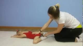 Детская гимнастика дома . Урок №7