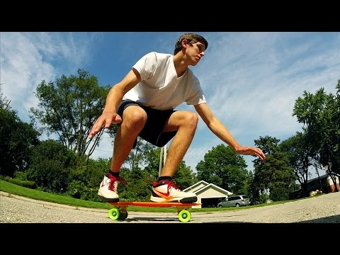 Learn how to ride a skateboard | Bucket List #185
