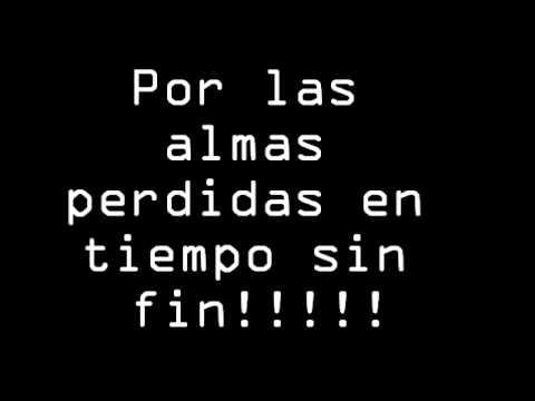 Dragonforce Lost Souls in endless time subtítulos en español
