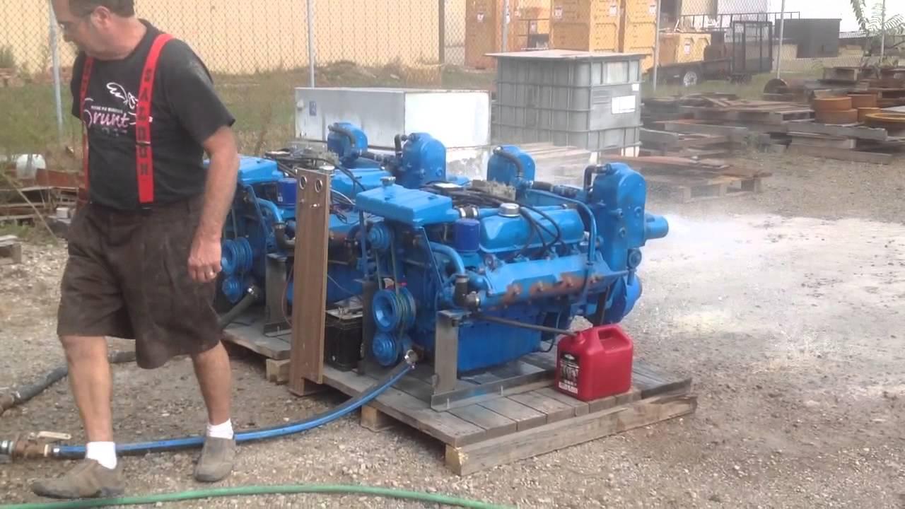 Ford FE 427 Marine engines