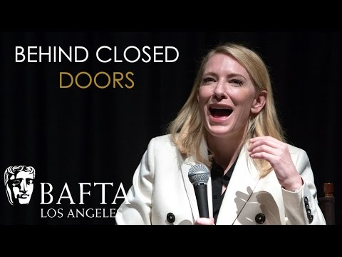 Cate Blanchett on Judi Dench - BAFTA LA Behind Closed Doors