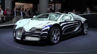 5 Mio.$ Bugatti Veyron L´Or Blanc Grand Sport (IAA 2011)