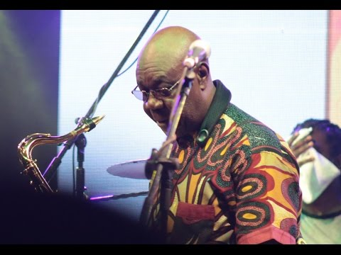 Manu Dibango performs Soul Makossa Live at the Koroga Festival