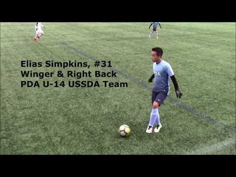 ESimpkins PDA U14 USSDA  Spring 2018 Season