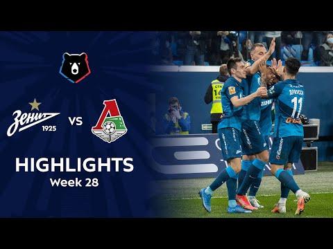 Zenit Petersburg Lokomotiv Moscow Goals And Highlights