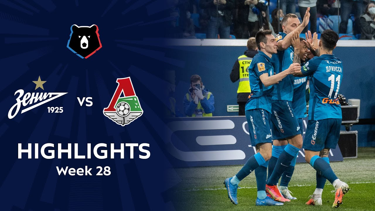Download Highlights Zenit vs Lokomotiv (6-1) | RPL 2020/21