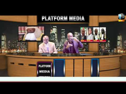 Nigeria Justices on Trail by Platform Media POLITICAL ARENA