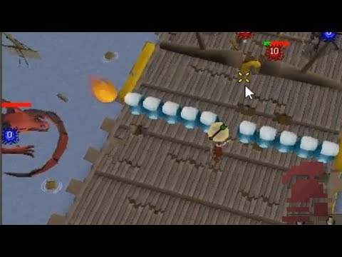 Risking My Rank 2 HCIM Dragon Slayer 2 Boss Fight