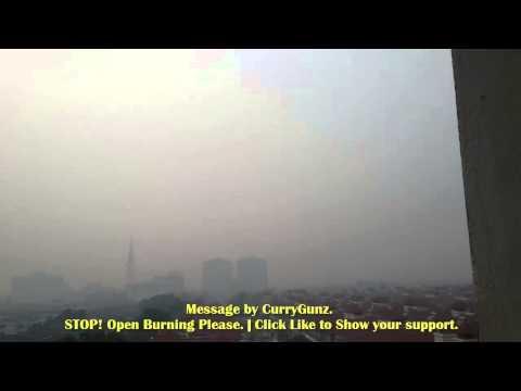 How Bad was the HAZE in Kuala Lumpur (KL), MALAYSIA | 23/6/2013