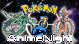 Plug.DJ: Pokemon: Destiny Deoxys Anime Night! 8:00pm 25/07/2013 (UK Time) [FINISHED]