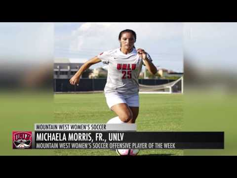 MW Women's Soccer Player of the Week - 8/22/16
