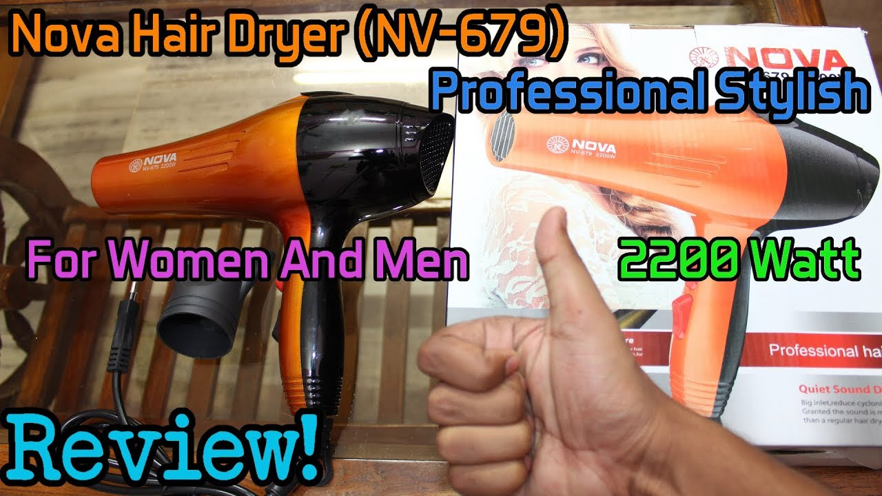 Nova Hair Dryer 3000w