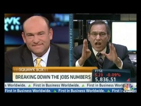 CNBC's Santelli Loses It Over Jobs Report Conspiracy Theory