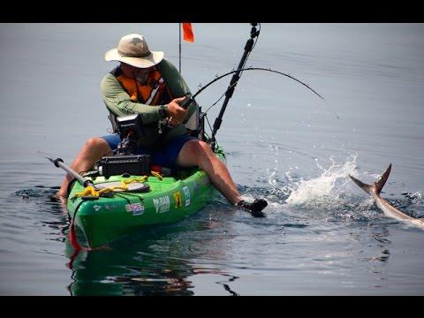 Kayak Fishing For Amberjack On North Carolina's Crystal Coast