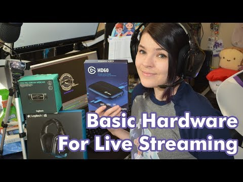 Basic Hardware For Live Streaming - Start Today! - Streaming Guide #1
