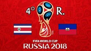 COSTA RICA v. HAITI - CONCACAF 2018 FIFA World Cup - GRUPO B