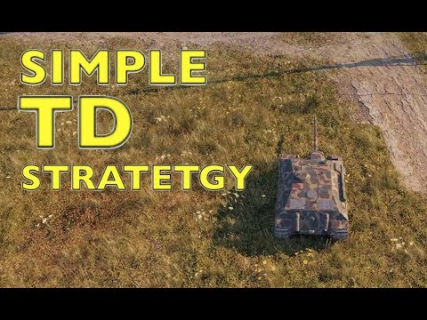 WOT - Simple TD Strategy | World Of Tanks