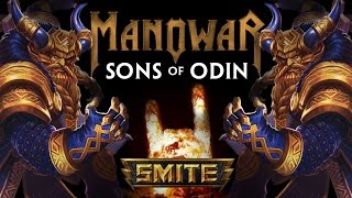Sons of Odin - MANOWAR (Official SMITE Music Video)