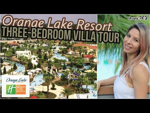 Orange Lake Resort | Three Bedroom Villa Tour | Holiday Inn
