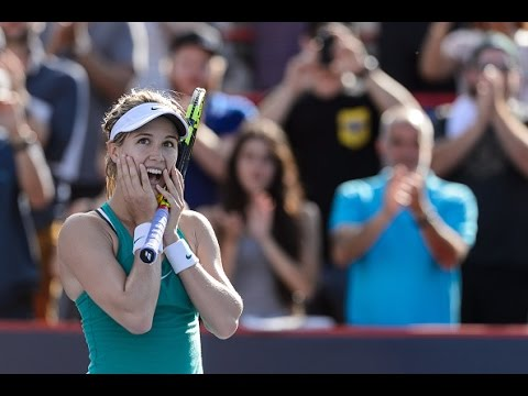 2016 Coupe Rogers First Round | Genie Bouchard vs Lucie Safarova | WTA Highlights