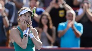 2016 Coupe Rogers First Round | Genie Bouchard vs Lucie Safarova | WTA Highlights