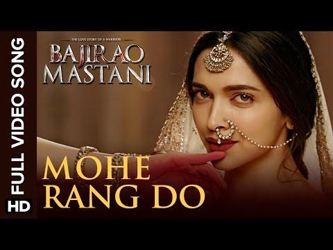 Mohe Rang Do Laal Full Video Song | Bajirao Mastani