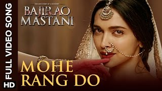 Mohe Rang Do Laal (Full Song) | Bajirao Mastani