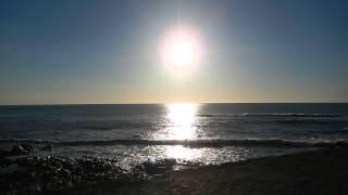 Atlantic Ocean, Waves and Sun