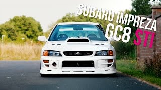 Nico's Subaru Impreza STI GC8 with Anti lag