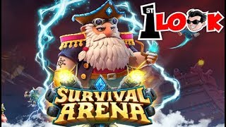 SURVIVAL ARENA TD - Most CHALLENGING Tower defense game, EVER ! (1st Look iOS / Android Gameplay)