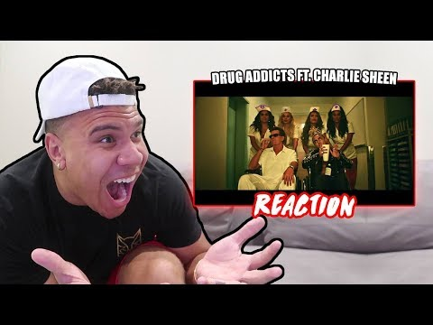 "REACTING TO Lil Pump ""Drug Addicts"" (Official Music Video)"