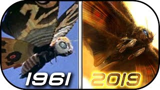 EVOLUTION of MOTHRA in Movies & TV (1961-2019) Godzilla king of monsters 2019 movie scene trailer 2