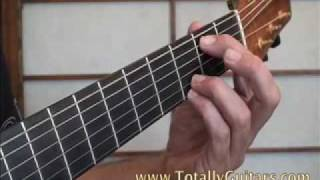 Learn to play Mini Lesson Same Mistake James Blunt acoustic guitar lesson
