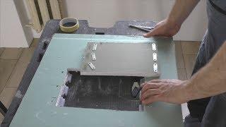 Как сделать люк под плитку на магнитах и экран под ванну за 30 минут!