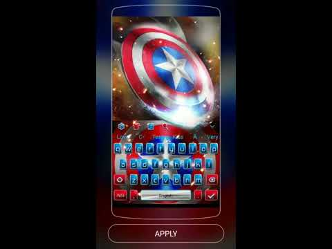 America Avenger Captain Keyboard 10001006 Apk Download - keyboard